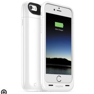 Mophie White Juice Pack Battery Case
